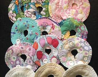 Bamboo backed GTube Pads--variety pack