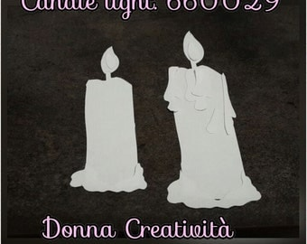 Candle light blanks. Sizzix 660029