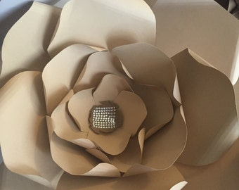 Specialty paper flower / wall flower