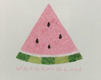 Glitter Watermelon