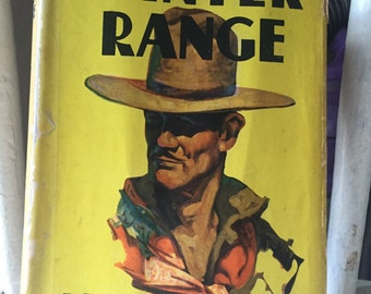 Winter Range by Alan Le May, published in 1932