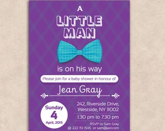 Baby Shower Invitation Template  - Instant Download