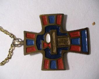 Enamel Crucifix(73)