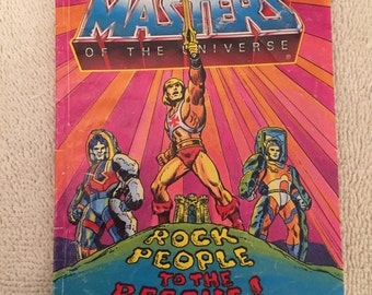 Vintage HE-MAN Masters Of The Universe Mini Comic Book