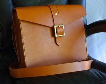 Briefcase, tan