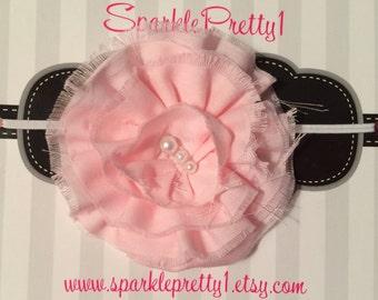Beautiful vintage style elastic infant headband