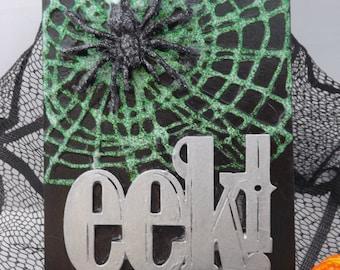 Spider EEK! Halloween Decoration Sign