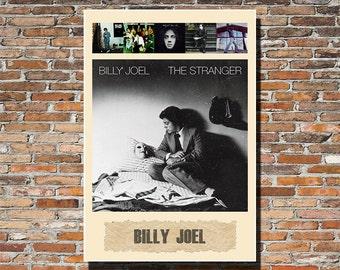 Billy Joel 13x19 Print, Billy Joel Album Art, Billy Joel Print, Billy Joel Wall Art, Billy Joel Poster, Rock Poster
