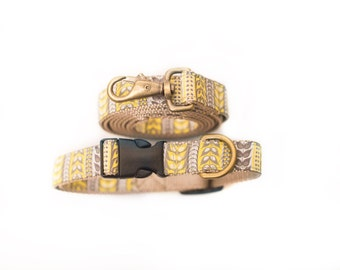 Stylish and durable dog collars, made in Vancouver BC.