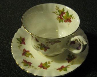 Vintage Royal Albert Bone China Tea Cup and Saucer Set