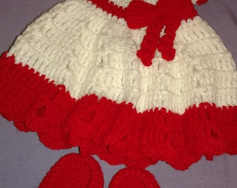 crochet baby girl dresses