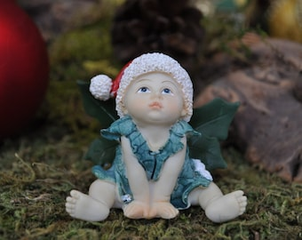 Holiday Fairy Baby Wishing Upon a Star