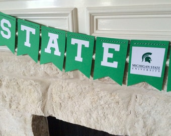 College bound banner! Graduation party Banner! Can customize school colors!