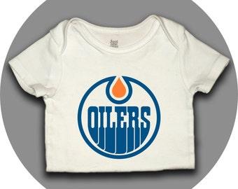 Edmonton Oilers Onesie - Oilers Logo