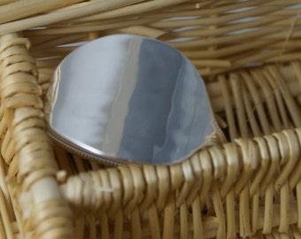 Silver Spoon Bracelet, Bead Spoon Bracelet, Spoon Jewellery , Cutlery Jewellery, Cutlery Bangle,Cutlery jewelry, Upcycled jewellery,