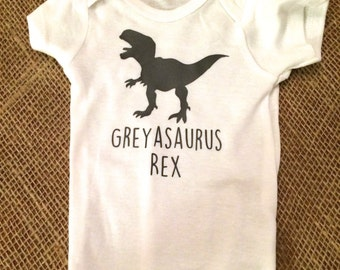 Personalized Dinosaur (T-Rex) Onesie - Totally Customizable!