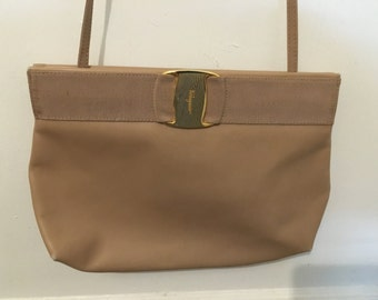 Authentic Vintage Salvatore Ferragamo shoulder bag