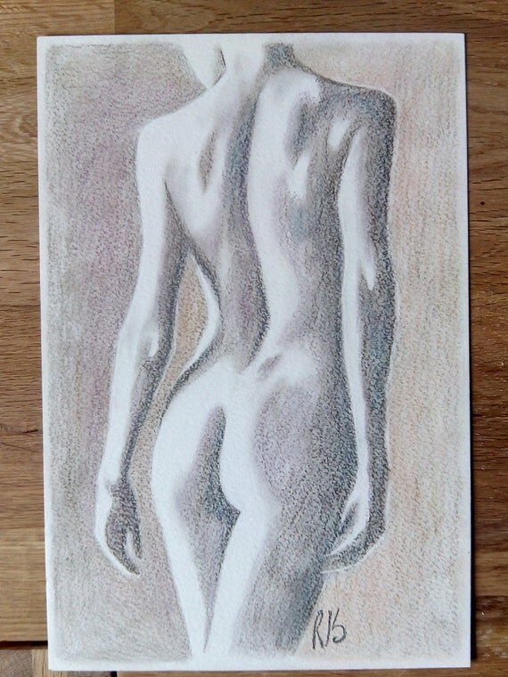 naked women drawings of Pencil