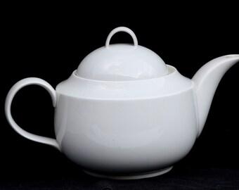 White Porcelain, Porcelain Teapot, White Porcelain Teapot, White Teapot