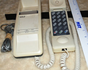 Solo 1986 Northern Telecom Desk Telephone