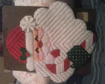 Santa door decoration