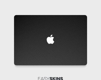 Carbon Fibre - MacBook Pro Skin | MacBook Air Sticker | Laptop Skin | MacBook Decal | Laptop Sticker | Easy Skins