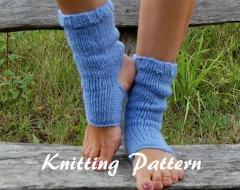 KNITTING PATTERN : Knitted Yoga Socks Pattern