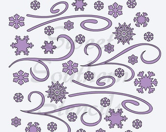 "Shop ""snowflake stencil"" in Food Craft Supplies"