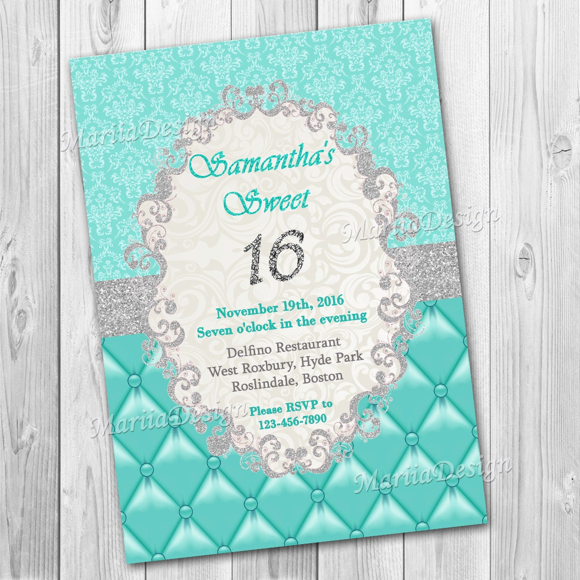 Sweet 16 invitation – Sweet 16 Party Invites