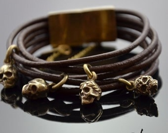 Bracelet Headhunter Bronze