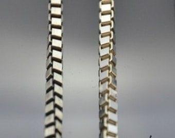 Chain cube 4mm 50cm