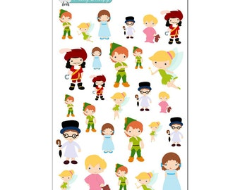 Peter Pan Stickers - Disney Planner Stickers