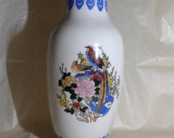 A decorative Chinese ceramic vase