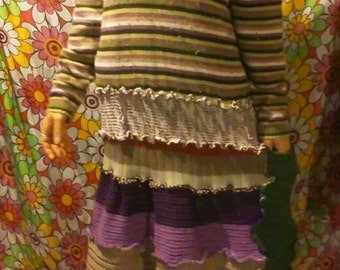 Upcycled Patchwork Sweater Dress***SALE***