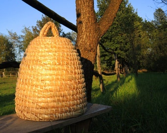 Straw Bee Skep