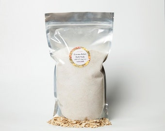 Eczema Relief Bath Soak / Eczema Bath Salts / Oatmeal Bath Salts / Oatmeal Bath Salts / Baby Bath Soak / Anti itch Bath Salts