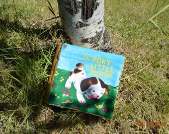 Pokey Little Puppy,Fabric Book, Book, Child, Gift  Pokey Little Pupppy