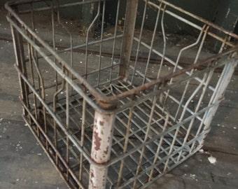 Steel Milk Crate