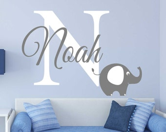Elephant Wall Decal - REMOVABLE STICKER