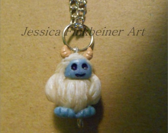 Abominable snowman necklace