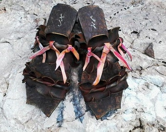 "Sandals ""Ithaca14"" (handmade to order)"