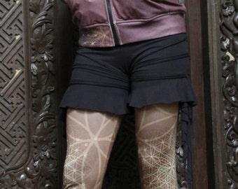 Ulysses Shorts- festival clothing/pixie shorts/pixie clothing/sacred creations/yoga shorts/party clothes/dance wear/boho/yoga clothing/pixie
