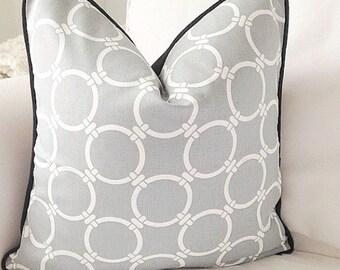 GREY AND WHITE  cushion cover, grey cushion cover, decorative pillow, gray decorative pillow cover, pillow case, cushion cover,