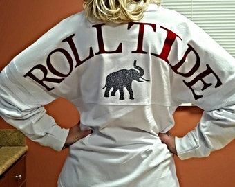 Alabama, Roll Tide, Bama, Pompom, Spirit Jerseys