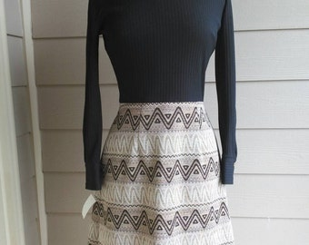 DEADSTOCK 60s/70s Turtleneck Dress
