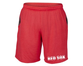 Mens Red Sox Shorts Red Sizes Small - 2XL