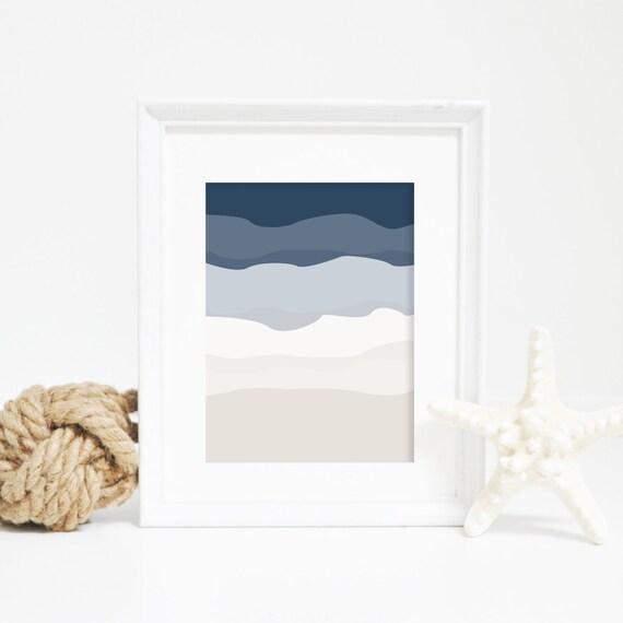 Minimalist Print, Navy Print, Modernist Wall Art, Neutral Home Decor, Modern Art Print, Minimalist Wall Art, Printable Art, Downloadable Art