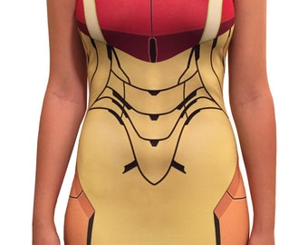 Samus Inspired Bodycon Dress