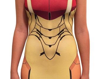 Samus Inspired Bodycon Dress