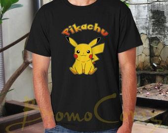 Pikachu Shirt Pikachu Tshirt Pikachu T Shirt Pikachu Tee Pokemon Shirt Pokemon Tshirt Pokemon T Shirt Pokemon Tee Parody Shirt Funny Shirt